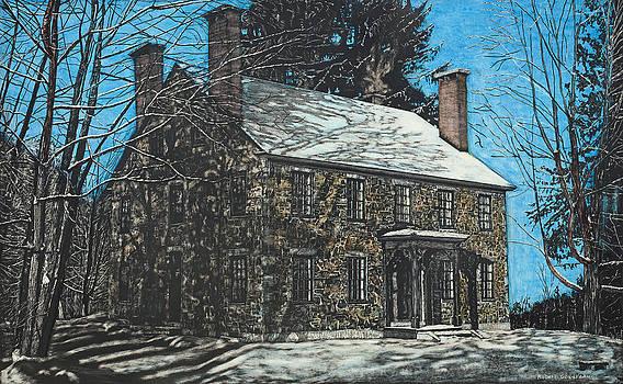 James Paul House in Durham NH by Robert Goudreau
