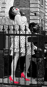 Barbara McMahon - Jazzy Pink Shoes