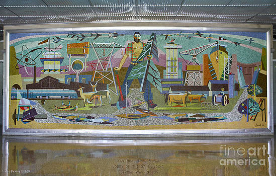 Jean Beal Mural by Larry Keahey