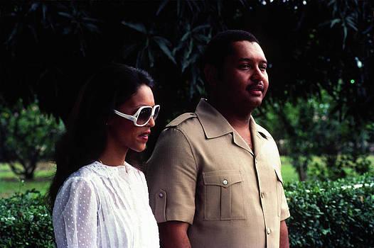 Johnny Sandaire - Jean-Claude Duvalier and Michelle Bennett