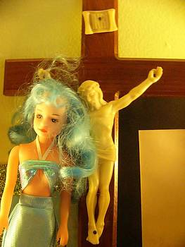 Jesus and the Blue Haired Mermaid by Nancy Mitchell