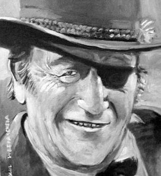 John  Wayne by Paul Weerasekera