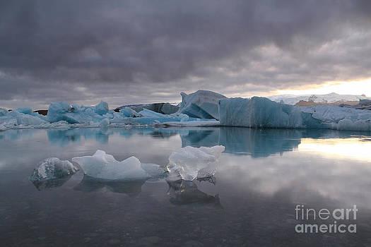 Jokulsarlon glacier Iceland by Miso Jovicic