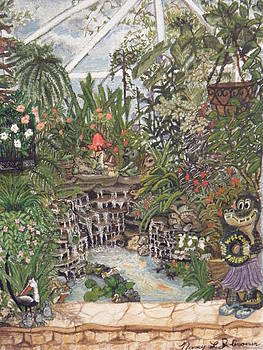 Joli's Critter pond by Nancy L Jolicoeur