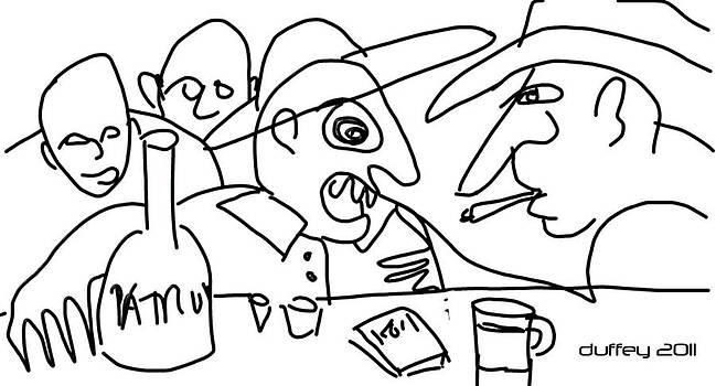 DOUG  DUFFEY - JOSE-D ALWAYS GET DRUNK N START TELLIN TALL TALES