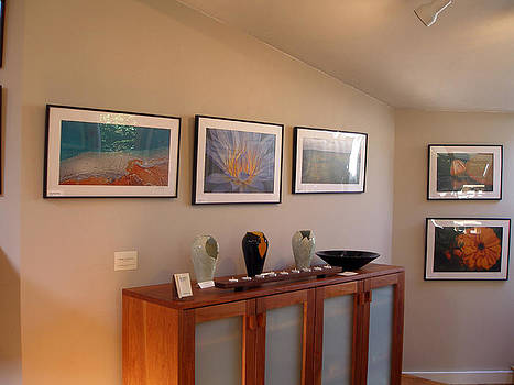 Joyce Novotny and Judith Taylor by Peter Lawrence Gallery
