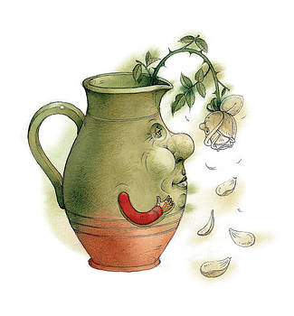 Kestutis Kasparavicius - Jug and Rose