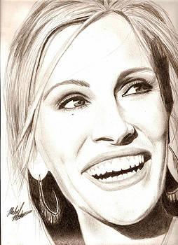 Julia Roberts by Michael Mestas