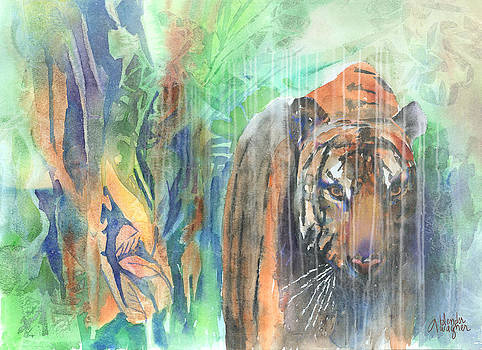 Jungle Cat by Arline Wagner
