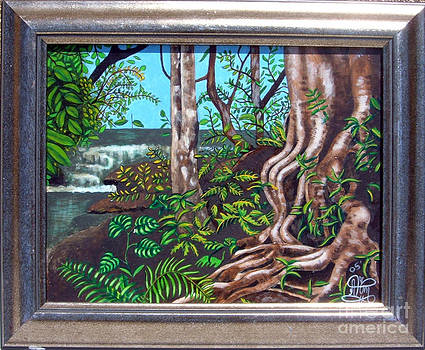 Jungle Scene by Annette Jimerson