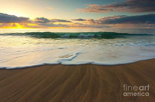 Kalalau Beach Sunset by Buck Forester