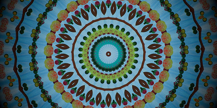 Kaleidoscope Sky by Heather  Hubb