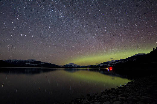 Kalum Lake after Dark by Brandon Broderick