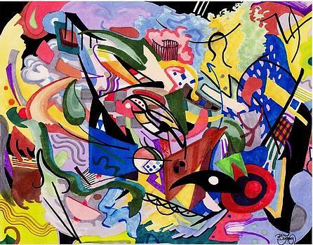 Kandinsky by Ben Leary