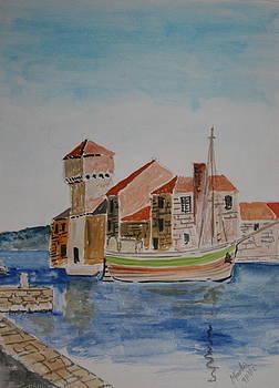 Kastil Gomilica Dalmatia Croatia by Mladen Kandic