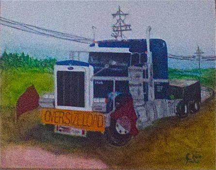Katt's Truck by Rick Tucker