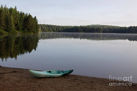 Kayak on Pog Lake by Chris Hill