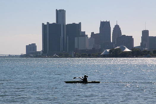 Jim Vansant - Kayaking on the Detroit River