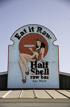 Key West Eat it Raw  by Paul Plaine