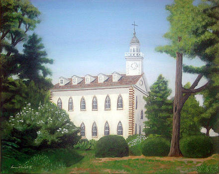Kirtland Temple by James Violett II
