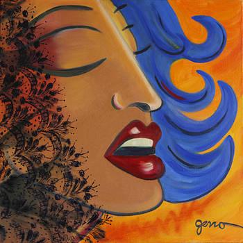 Kiss Series Number 2 by Helen Gerro