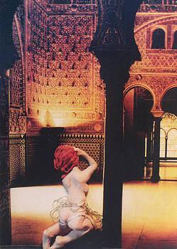 Kneeling in the Temple by Walter Clark