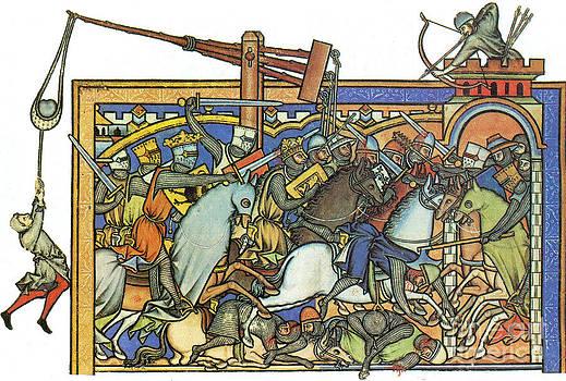 Photo Researchers - Knights Templar 13th Century
