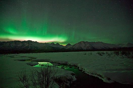 Knik Alaska Northern Lights by Sam Amato