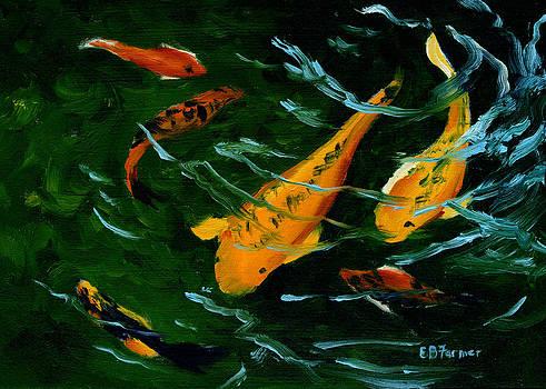 Koi Fish by Elaine Farmer