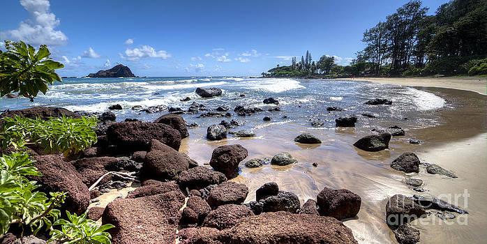 Koki Beach Hana Maui Hawaii by Dustin K Ryan