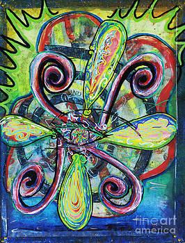 Kristal Spirals by Dre Irey
