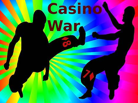 Kung Fu Fighting Casino War by Casino Artist