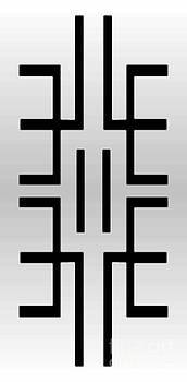 L R Emerson II upside down artist logo and Masg Art Logo by L R Emerson II