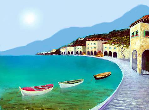 La Citta Sul Mare by Larry Cirigliano