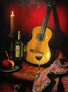 La guitarra by William Martin
