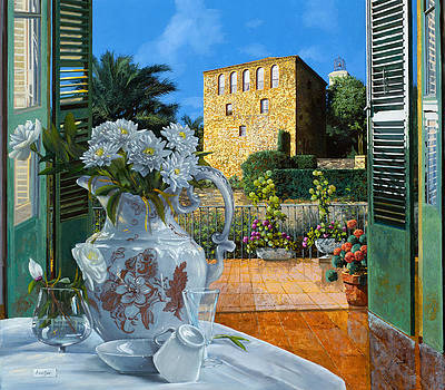 La tour carree in Ste Maxime by Guido Borelli