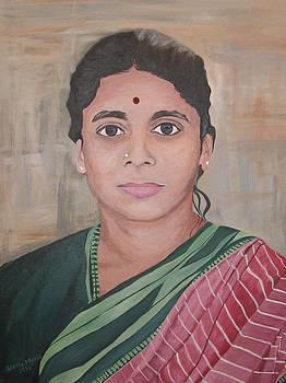Stella Sherman - Lady from India