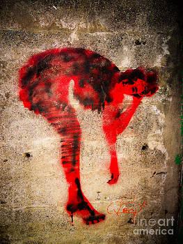 Lady in Red by Dan Julien