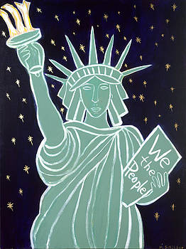 Lady Liberty by Mary Schilder