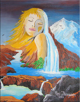 Lady of the Mountain by Ron Thompson