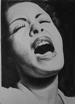 Lady Sings..  by Adrian Pickett Jr