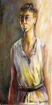 Lady Waiting by Bonnie Goedecke