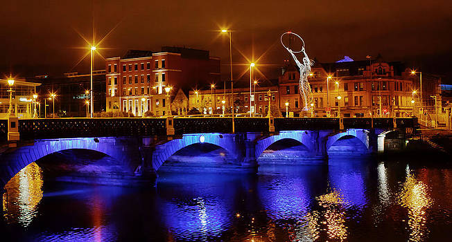 Lagan Bridge Belfast by Debbie Dee