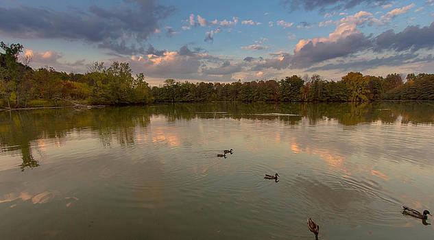 Lake by Amit Khanna
