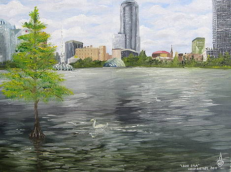 Lake Eola by Larry Whitler