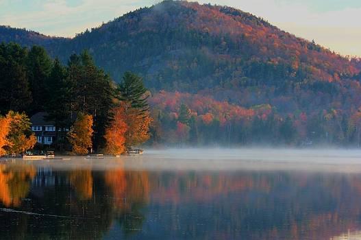 Lake on a fall Day by Nilanjan Chaks