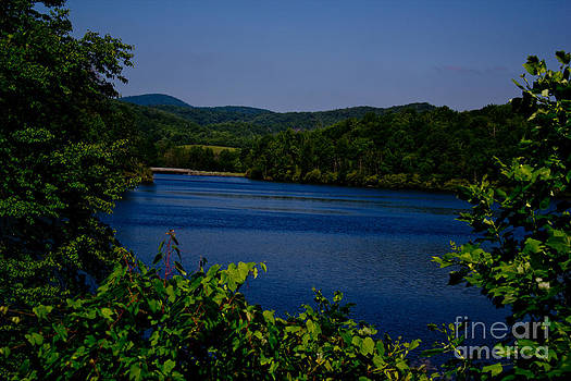 Lake on the Mountain by Tom Carriker