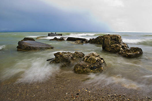 Lake Rocks by Jennifer Brindley