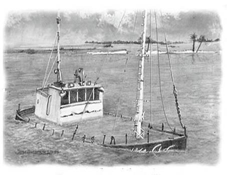 Jim Hubbard - Lake Sumter sunken boat