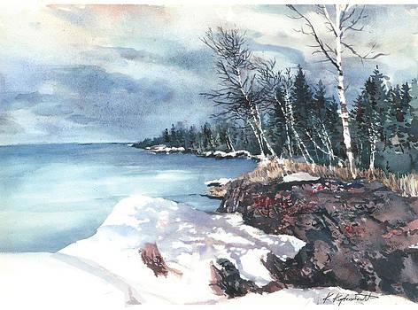Lake Superior  by Kerry Kupferschmidt